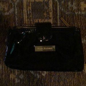 Isaac Mizrahi patent mini makeup bag